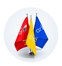 Флаги настольные и сувенирные